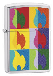 <b>Зажигалка Classic</b> Abstract Flame Design 29623 от Zippo купить ...