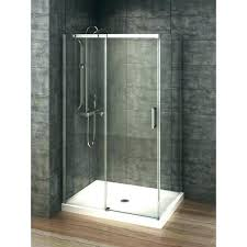 one piece shower stall with door prefab walls stalls glass 3 hom