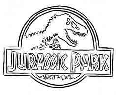 Small Picture Jurassic Park Coloring Pages Colouring Pages Pinterest