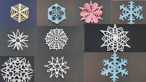 best easy diy paper snowflakes how to diy decorations tutorial