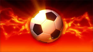 Soccer Ball On Fire Loop - YouTube