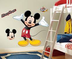 on mickey mouse metal wall art with disney mickey mouse giant wall decal walmart