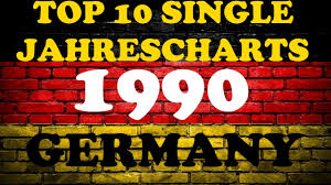 Top 10 Single Jahrescharts Deutschland 1990 Year End Single Charts Germany Chartexpress