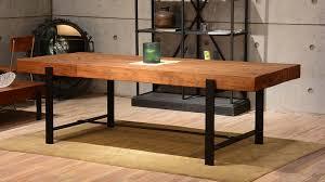 Image Vintage Industrial Wood Modern Rustic Dining Table Intended For Room Prepare Thetastingroomnyccom Industrial Wood Modern Rustic Dining Table Intended For Room Prepare