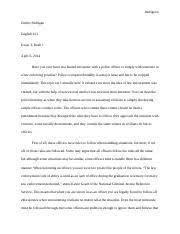 rhetorical analysis jimmy padrigan english  most popular documents from san diego city college