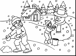astonishing winter sports coloring pages with winter coloring page ...