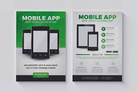 Design Flyer App Mobile App Flyer