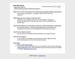Google's Safe Browsing Diagnostic Tool - Search Engine Land
