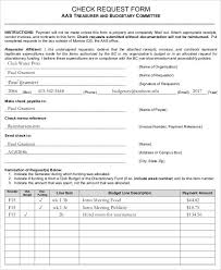 Check Request Form - 11+ Free Word, Pdf Documents Download   Free ...