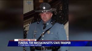 Mass. State Trooper eulogized as family man, good colleague; Thousands  attend funeral | fox61.com