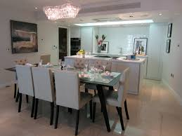 kitchen diner lighting. Limitless-Ltd-Natural-Light-Systems-basement-kitchen-diner Kitchen Diner Lighting L