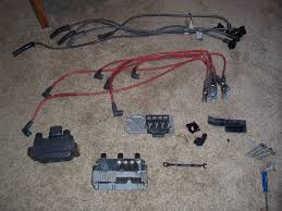 vwvortex com ford coil pack on vr6 pics i picked up the used ford coil wiring plug and stock ford plug wires off of a friends of mines thunder bird supercoupe here are some pics everything