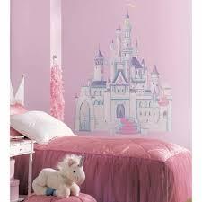 disney princess castle wall art