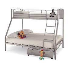 metal bunk bed. Serene Oslo 3 Sleeper Metal Bunk Bed