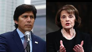 dianne feinstein and state sen kevin de leon stand on the issues