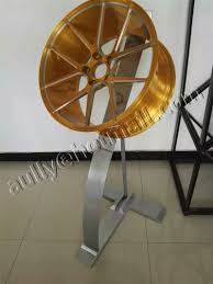 Alloy Wheel Display Stand New Design Adjustable Display Stand Rack for Alloy Wheel Rims 60