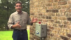 septic tank control box septic tank control box