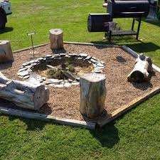 Backyard Fire Pit Ideas With Simple DesignBackyard Fire Pit Design Ideas
