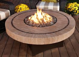 outdoor gas fire pit coffee table