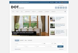 Real Estate Website Templates Magnificent 48 Real Estate HTML Website Templates Postashio
