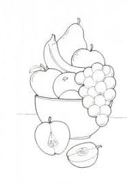 Small Picture Fruit Basket Coloring Pages Fruit Basket Coloring Pages