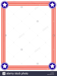 american template frame usa flag background with stars design template american flag