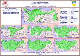Haftalık Hava Durumu (15 - 21 Haziran... - Burdur Meteoroloji Müdürlüğü