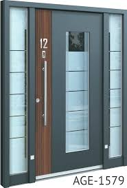 oversized front door grey contemporary front doors with wood and glass inserts oversized exterior doors for