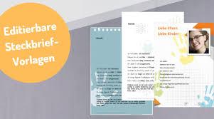 Der Kreative Steckbrief Für Erzieher Im Kindergarten Vorlagen Und