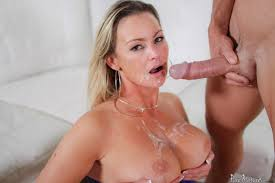 Hot busty MILF licks ice cream and takes cock Big Boobs Gallery