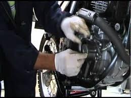 suzuki dr650 oil change and engine