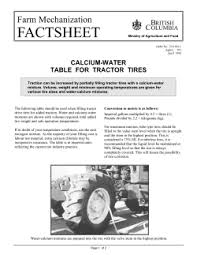 Ag Tire Rolling Circumference Chart Understanding Rolling Circumference