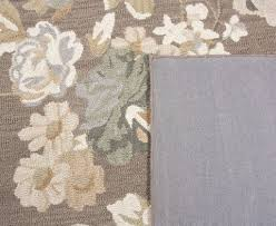 fl area rug 8x10 wilshire collection flower city black shaped pink shabby chic decorate french country