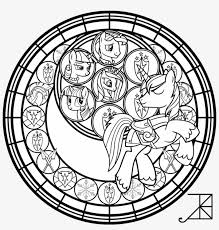 Shining Armor Stained Glass Disney Stained Glass Coloring Pages