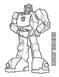 Coloring Pages Transformers Free Printable For Kids Pinterest 768