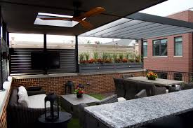 rooftop furniture. Garage Roof Deck Outdoor Furniture Lakeview Chicago6 Rooftop
