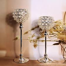 Home Decor Candle Holders And Accessories wedding decorationhome decor candle holders crystal candle 2