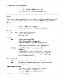 Nursing Resume Template Adorable Example Of Nursing Resume Resume Pro