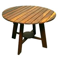 round wooden patio tables round wood patio table cool exotic outdoor dining at teak chairs plans