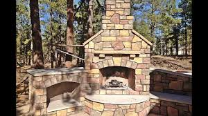 Of Outdoor Fireplaces Building An Outdoor Fireplace Youtube