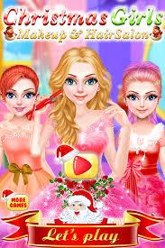 christmas s makeup hair salon dressup games ugogo entertainment 0