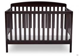 rustic nursery furniture set brayden in crib white gray delta childrens s dark cherry paint children chocolate straight wood with changing table baby