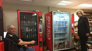 Electronic Vending Machine Locations Fascinating Smart Vending Coke Readying AIPowered Drink Machines The Coca