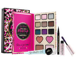 too faced the power of makeup palette by nikkietutorials