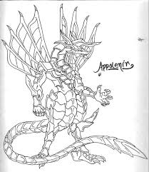 Fundamentals Bakugan Coloring Pages Of Drago Fascinating Picture