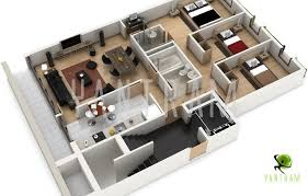 Pin by Maria on 3D House Plans Floor Plans Pinterest 3d house