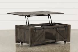... preloadGrant Lift-Top Cocktail Table W/Casters - Back