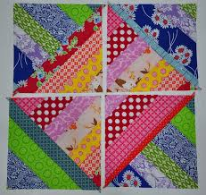 61 best STRING PIECING PROJECTS images on Pinterest | Kid quilts ... & String Quilt Tutorial--good tutorial for an easy block that allows you to  use your existing stash to play with color, texture, and prints for a quilt  with ... Adamdwight.com
