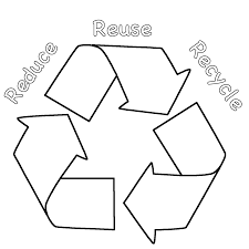 Small Picture Recycle Sign With Earth Coloring Page Free Printable Coloring