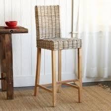 Woven rattan bar stool 1